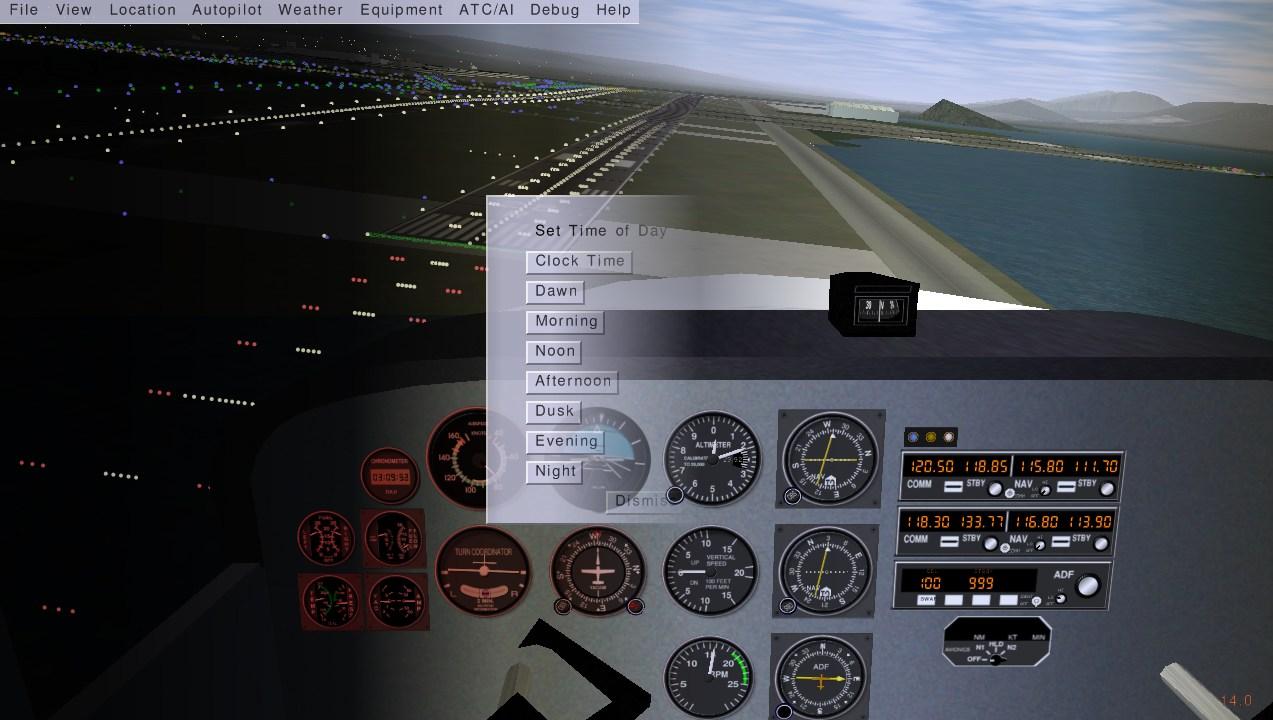 A Circuit in FlightGear FlightGear Flight Simulator