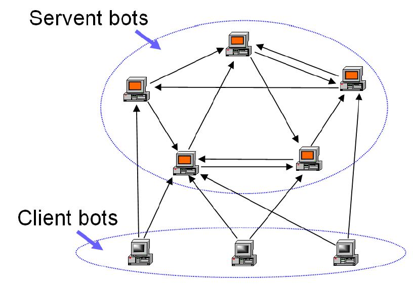 An Advanced Hybrid Peer-to-Peer Botnet