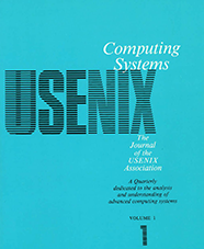 Computing Systems Journal