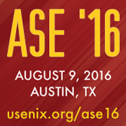 ASE '16 button