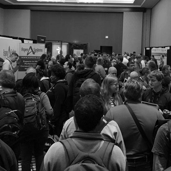 LISA Expo Crowd