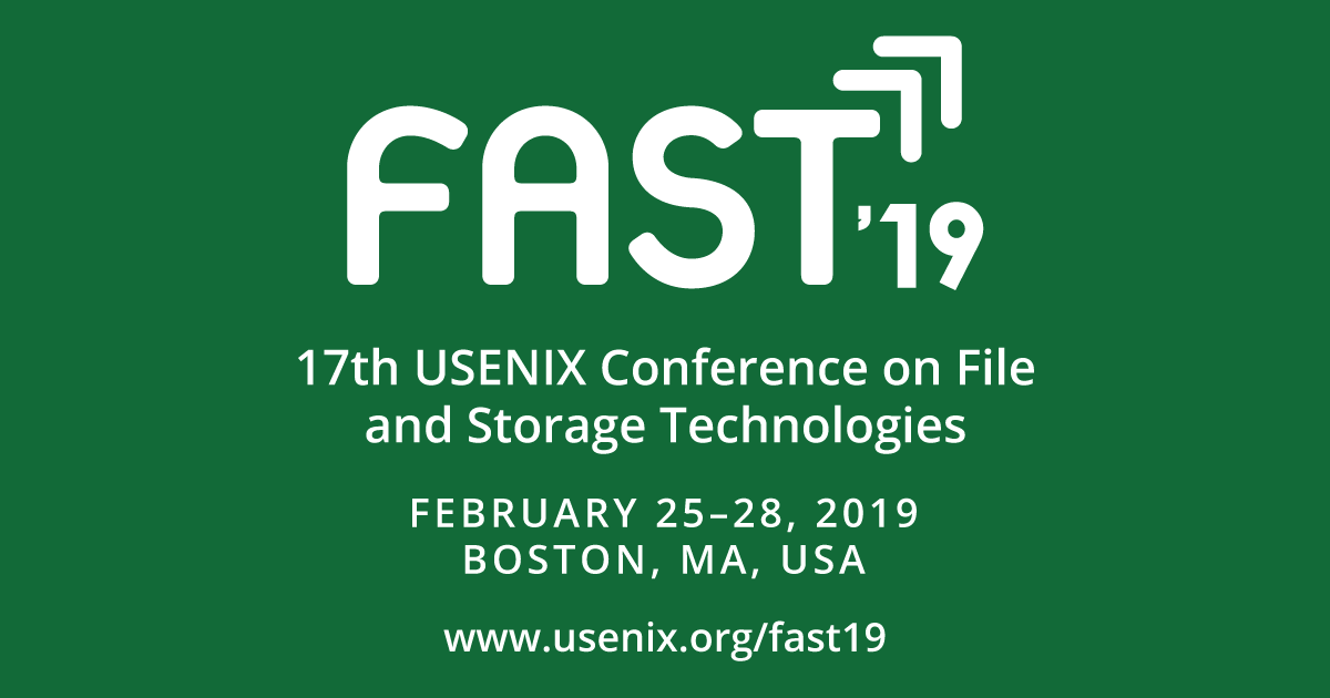 FAST '19 Call for Papers | USENIX
