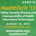 HealthTech '13 button
