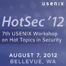 HotSec '12 button