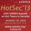 HotSec '13 button