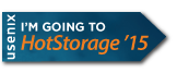 I'm going to HotStorage '15 button