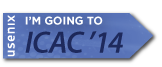 I'm going to ICAC '14 button