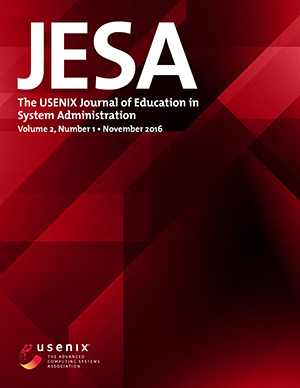 JESA Volume 2, Number 1