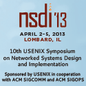 NSDI '13 button