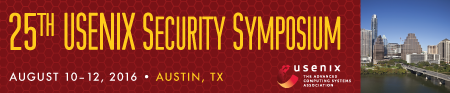 USENIX Security '16