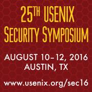 USENIX Security '16