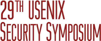 USENIX Security '20, August 12-14, 2020