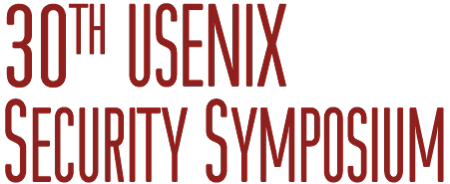 USENIX Security '21, August 11–13, 2021