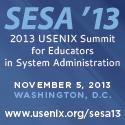 SESA '13 button