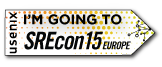 I'm Going to SREcon15 Europe
