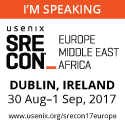 SREcon17 Americas I'm Speaking button