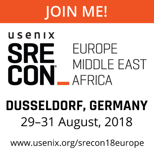 SREcon18 EMEA Join Me button