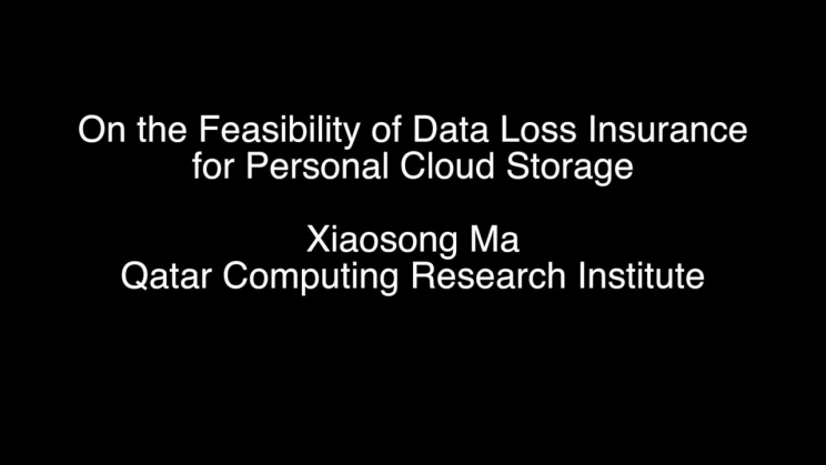 On the Feasibility of Data Loss Insurance for Personal Cloud Storage
