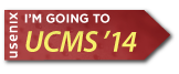 I'm going to UCMS '14 button