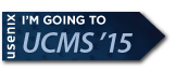 I'm going to UCMS '15 button