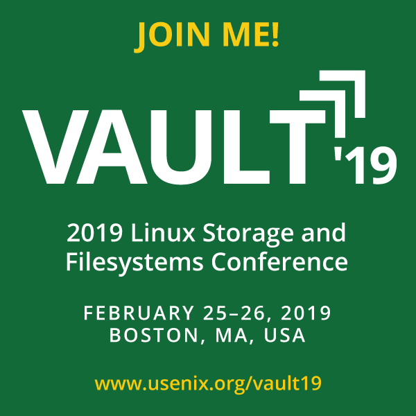 Vault '19 I'm Speaking button