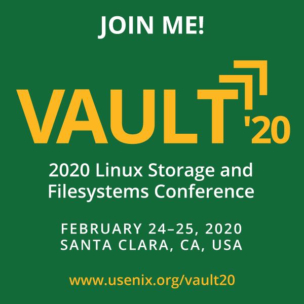 Vault '20 Join Me button