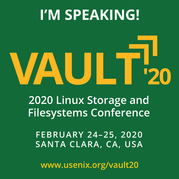 Vault '20 I'm Speaking button